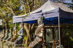 Tajlandzka świątynia w chiangmai, Tajlandia obrazy royalty free