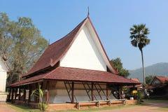Tajlandzka świątynia w Loei, Tajlandia (Wat Pho Chai) Zdjęcia Royalty Free
