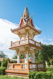 Tajlandzka świątynia w Ratchaburi Zdjęcia Royalty Free