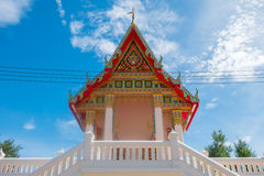 Tajlandzka świątynia w ratchaburi, Tajlandia Obrazy Royalty Free