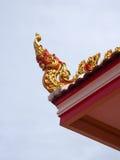 Tajlandzka Świątynna architektura Obrazy Royalty Free