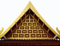 Tajlandzka Świątynna architektura Obraz Royalty Free