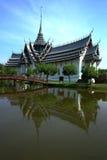 tajlandzka antyczna architektura obraz royalty free