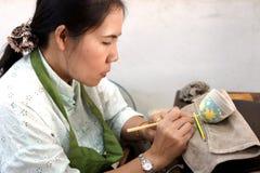 Tajlandzka antyczna fabryka Zdjęcia Royalty Free