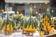 tajlandzka błogosławieństwo ceremonia obraz stock