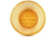Tajlandzka bambusowa koszykowa tekstura Zdjęcie Stock