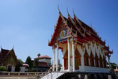 Tajlandzka Buddyjska świątynia 006 Obraz Royalty Free