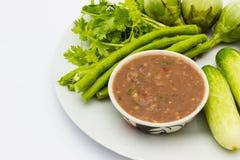 Tajlandzka chili pasta Obraz Royalty Free