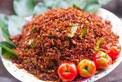 Tajlandzka Chili sól Zdjęcie Stock