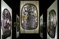 Tajlandzka cień sztuka Zdjęcia Stock
