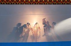 Tajlandzka cień sztuka Obraz Royalty Free