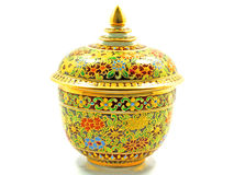 tajlandzka colours porcelana pięć Obrazy Stock