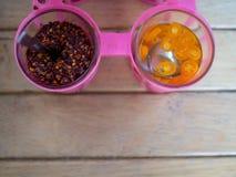 Tajlandzka condiment grupa fotografia royalty free
