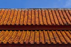 Tajlandzka dachowa płytka Obrazy Royalty Free