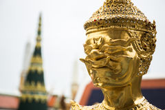 Tajlandzka demon statua Obraz Royalty Free