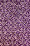 Tajlandzka deseniowa tkanina Obrazy Royalty Free