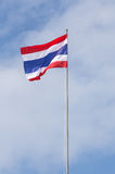 Tajlandzka flaga obraz stock