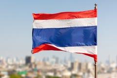 Tajlandzka flaga Obrazy Royalty Free