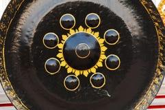 tajlandzka gong świątynia zdjęcia royalty free