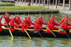 Tajlandzka królewska barka Fotografia Royalty Free