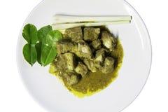 Tajlandzka kuchnia - fertanie smażący wieprzowina ziobro Zdjęcie Royalty Free