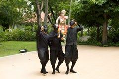 Tajlandzka kukła Hanuman Chwyta Benchakaya Zdjęcie Stock