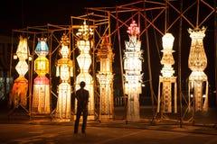Tajlandzka lampa w Chiang mai Obraz Royalty Free