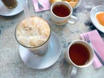 Tajlandzka lodowa kawa Zdjęcie Royalty Free