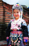 Tajlandzka mała dziewczynka Zdjęcia Royalty Free