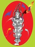 Tajlandzka malowidło ścienne świątynia Obrazy Stock