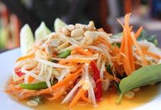 tajlandzka melonowiec sałatka Fotografia Royalty Free