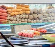 Tajlandzka mięsna piłka i kiełbasa Obraz Stock