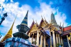 Tajlandzka pałac świątynia zdjęcie royalty free