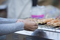 Tajlandzka piec na grillu wieprzowina, plama Zdjęcie Stock