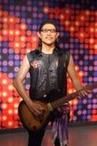 Tajlandzka piosenkarza Karabao figura woskowa Zdjęcie Royalty Free