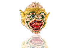 Tajlandzka ramayana maska obrazy royalty free
