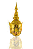 Tajlandzka ramayana maski figurka obraz royalty free