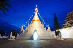 Tajlandzka rzemiosło pagoda Fotografia Royalty Free