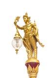 Tajlandzka słup lampa Fotografia Royalty Free