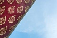 Tajlandzka stylowa sztuka na dachu Obrazy Stock