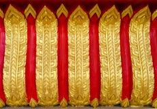 Tajlandzka stylowa sztuka w świątyni Fotografia Royalty Free