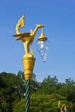 Tajlandzka stylowa złota ptasia statua Zdjęcia Stock