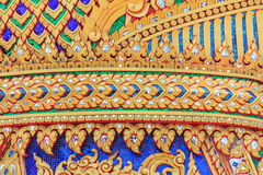 Tajlandzka sztuka i rzeźbić sztuczni Fotografia Stock