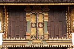 Tajlandzka sztuka na kolekci sztuki Buddyjscy święte pisma. Obrazy Royalty Free