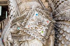 Tajlandzka sztuka północną architekturą Obraz Stock