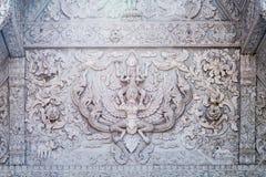 Tajlandzka sztuka północną architekturą Obraz Royalty Free