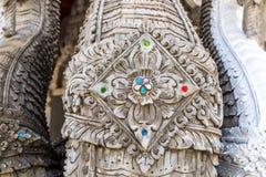 Tajlandzka sztuka północną architekturą Zdjęcie Stock