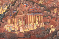 tajlandzka sztuki tekstura Fotografia Royalty Free
