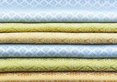 Tajlandzka tkanina Zdjęcie Stock