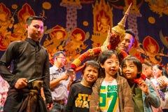 Tajlandzka tradycyjna kukła fotografia stock